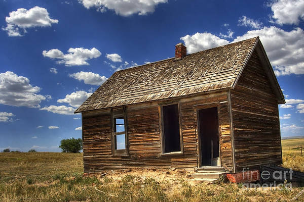 Landscape Art Print featuring the photograph Colorado Homestead by Pete Hellmann
