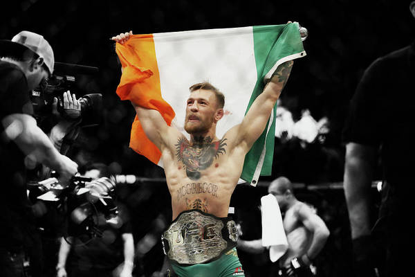 Conor Mcgregor Art Print featuring the mixed media Conor Mcgregor 2b by Brian Reaves