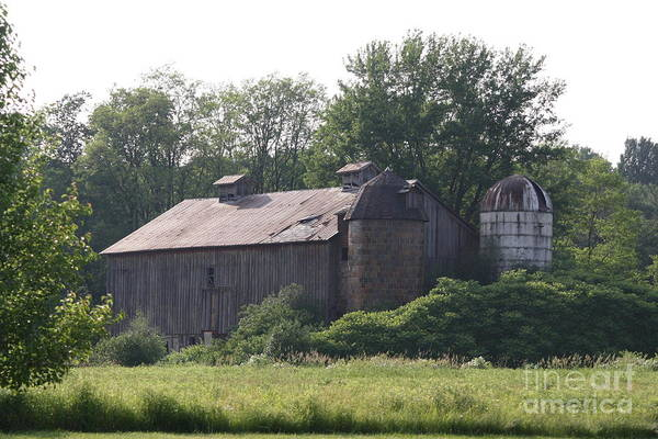 Country Art Print featuring the photograph Country Barn by Jennifer Francisco