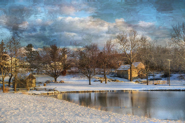 Kathy Jennings Art Print featuring the photograph Cyrus Mccormick Farm by Kathy Jennings