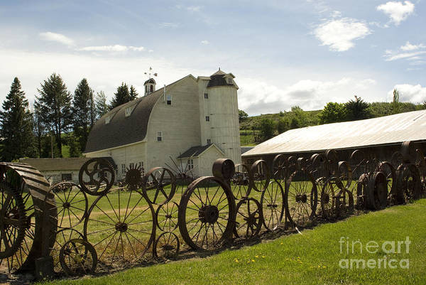 Historic Barn Art Print featuring the photograph Dahmen Barn by Louise Magno