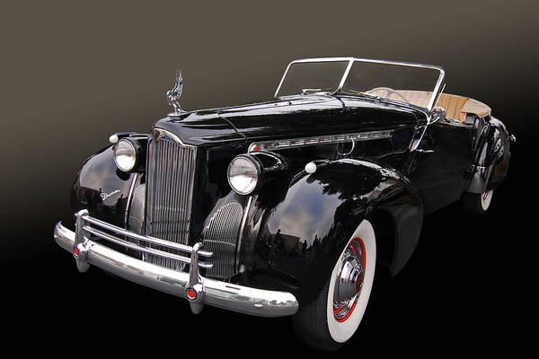 40 Art Print featuring the photograph Darrin Cabriolet by Bill Dutting