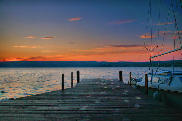Sunrise Art Print featuring the photograph Dawn Breaking by Steven Ainsworth