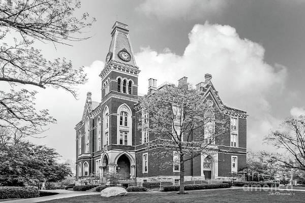 Depauw University Art Print featuring the photograph De Pauw University East College by University Icons