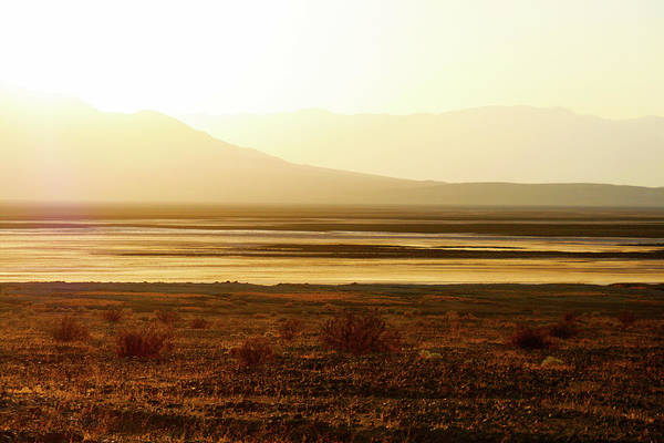 Death Valley National Park Art Print featuring the photograph Death Valley - A Natural Geologic Museum by Christine Till