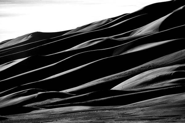 Sand Dune National Park Art Print featuring the photograph Desert Abstract by Mike Flynn