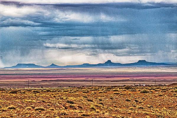 Desert Art Print featuring the photograph Desert Storm by Lou Novick