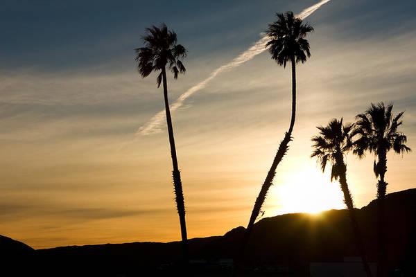 Sunset Art Print featuring the photograph Desert Sunset by Carl Jackson
