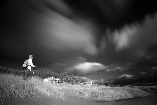 Infrared Art Print featuring the photograph Destination by William Lee