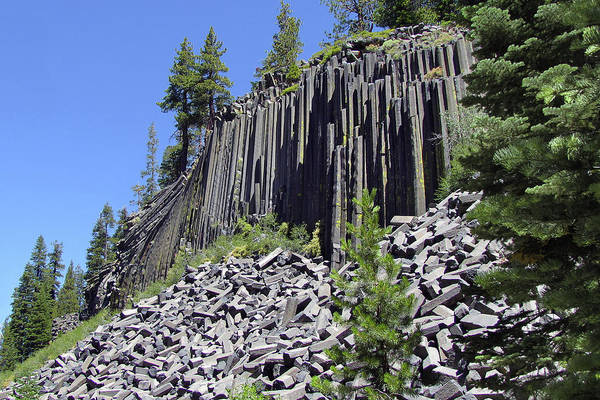 Devils Postpile Art Print featuring the photograph Devil's Postpile - Nature's Masterpiece by Christine Till