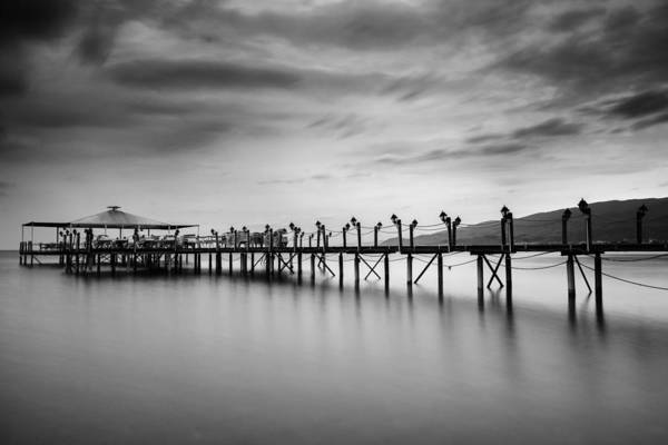Dock Art Print featuring the photograph Dock At Autumn by Dogukan Benli