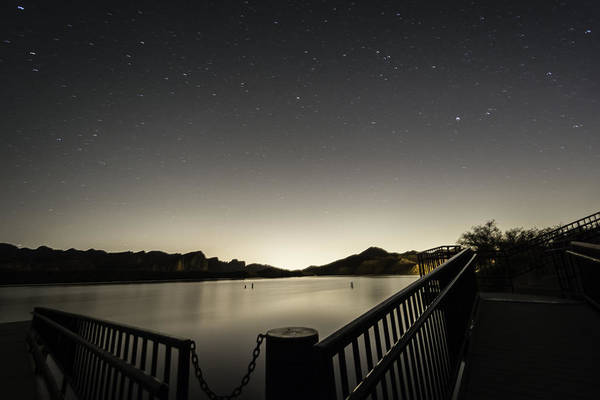 Arizona Art Print featuring the photograph Dock by Rachael Armstead