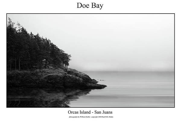 Canvas Prints Art Print featuring the photograph Doe Bay by William Jones