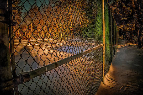 Art Print featuring the photograph Don't Fence Me In by Chroma Photographer