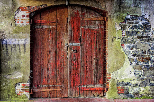 Door Art Print featuring the photograph Door To Discovery by JAMART Photography
