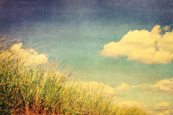 Clouds Art Print featuring the photograph Drift by Nancy Coelho