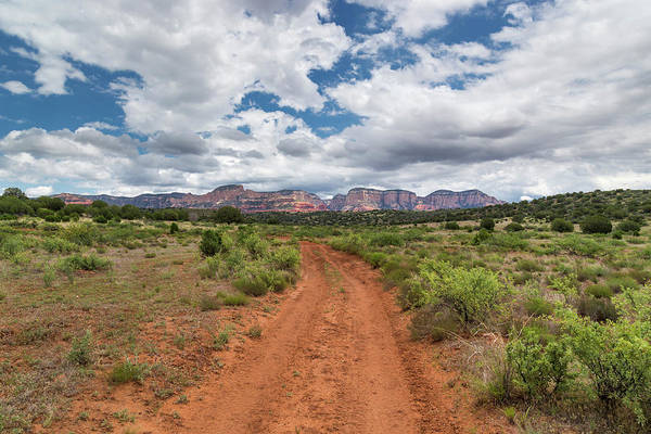 Arizona Art Print featuring the photograph Drive To Loy Canyon, Sedona, Arizona by Steve Wile