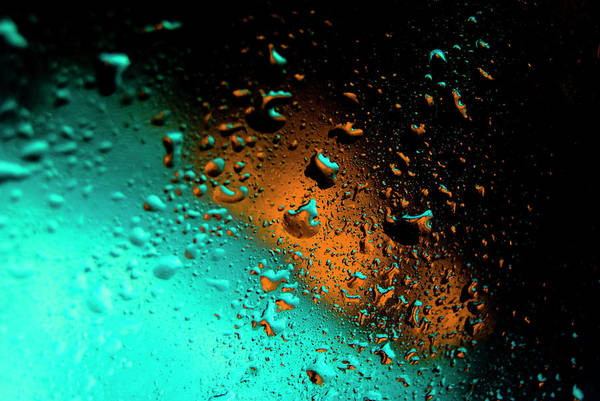 Water Art Print featuring the photograph Droplets Vi by Grebo Gray