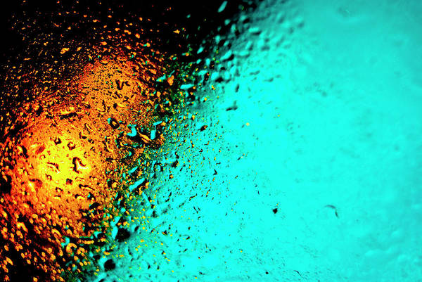 Droplets Art Print featuring the photograph Droplets Xxiii by Grebo Gray