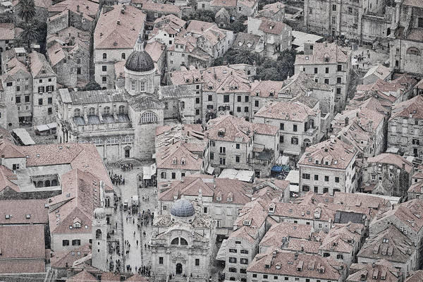 Dubrovnik Art Print featuring the photograph Dubrovnik Rooftops #2 by Stuart Litoff