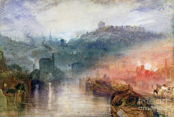 Dudley Print featuring the painting Dudley by Joseph Mallord William Turner