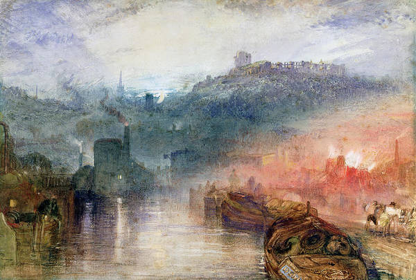 Turner Art Print featuring the painting Dudley Worcester by Joseph Mallord William Turner