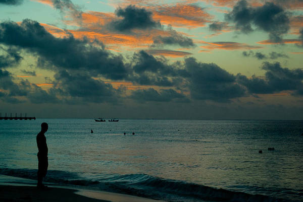 Sea Art Print featuring the photograph Early Morning Sea by Douglas Barnett
