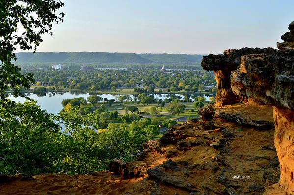East Lake Winona Art Print featuring the photograph East Lake Winona by Susie Loechler