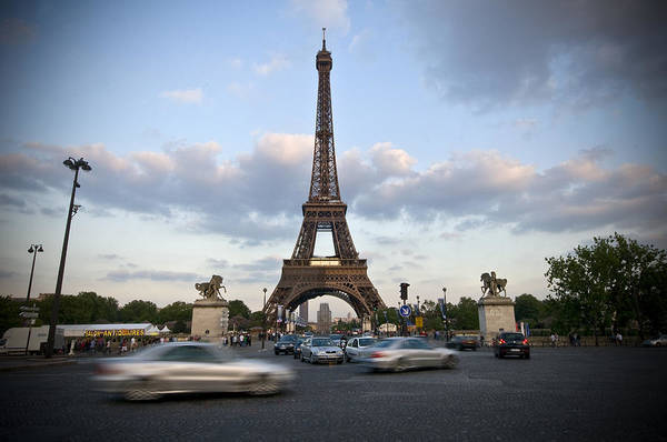 Europe Art Print featuring the photograph Eiffel Tower by Krista Corcoran Photography