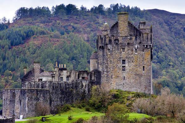 Scotland Art Print featuring the photograph Eilean Donan Castle by John McKinlay