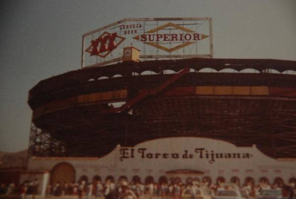 Tijuana Mexico Art Print featuring the photograph El Toreo De Tijuana by Rob Hans