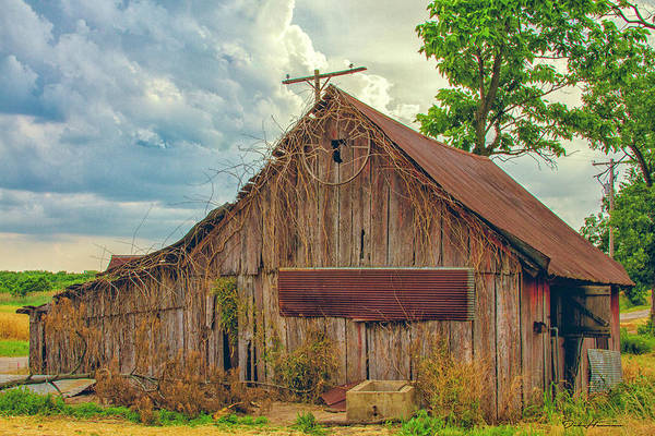Structure Art Print featuring the photograph End Of An Era In Sailor Springs Illinois by Deb Henman