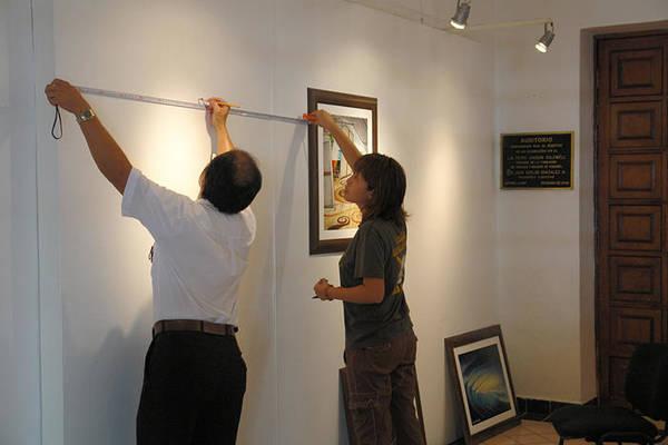 Exhibition Cozumel Museum Art Print featuring the photograph Exhibition Cozumels Museum by Angel Ortiz
