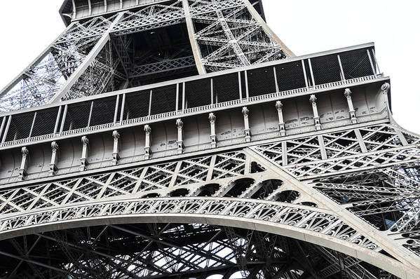 Eiffel Tower Art Print featuring the photograph Eye For Detail by Lynn Marlborough