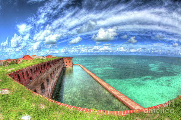 Florida Art Print featuring the photograph Eye Of The Fort by Perry Hodies III
