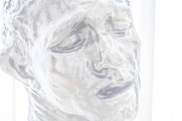 Scultpure Art Print featuring the photograph Faded Sculpture by Miranda Strapason