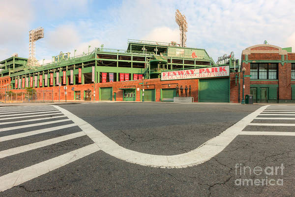 Clarence Holmes Art Print featuring the photograph Fenway Park IIi by Clarence Holmes