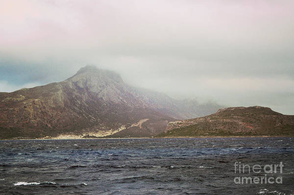 Water Art Print featuring the photograph Fog, Wind And Waves by Remioni Art