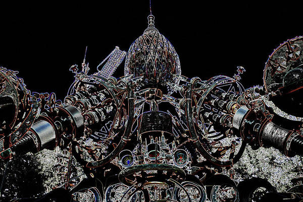 Dr. Evermor Print featuring the photograph Forevertron by Tya Kottler