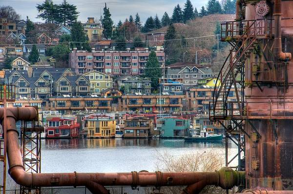 Seattle Art Print featuring the photograph Framed In Seattle by Spencer McDonald