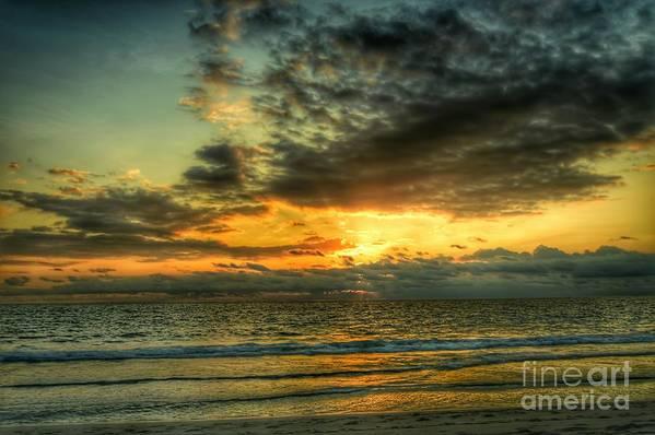 Sunrise Art Print featuring the photograph Gentle Dawn by Glenn Forman