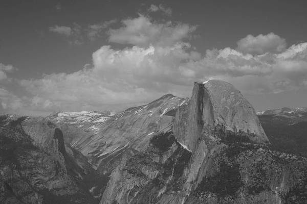Half Dome Art Print featuring the photograph Glacier Point by Travis Day