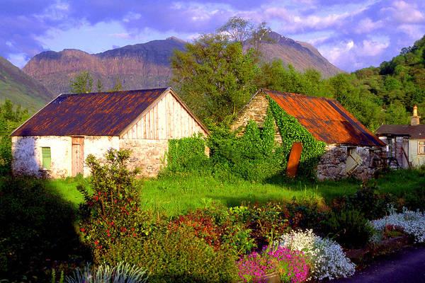 Scotland Art Print featuring the photograph Glencoe Village by John McKinlay