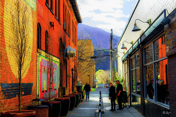 Glenwood Springs Art Print featuring the photograph Glenwood Alleyscape by Dean Arneson