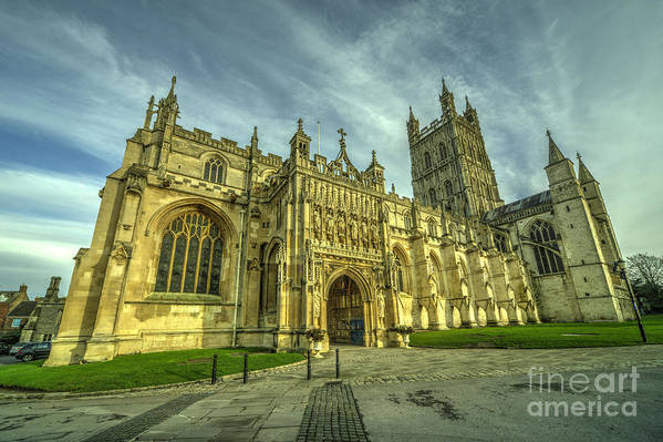 Gloucester Art Print featuring the photograph Gloucester Cathedral by Rob Hawkins