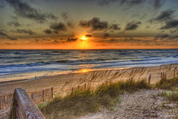 Water Art Print featuring the photograph God's Promise Of A New Day by E R Smith