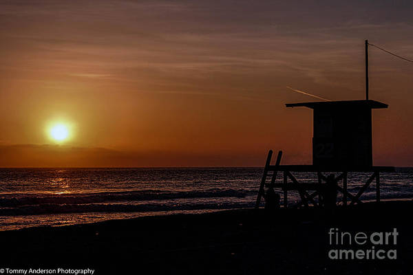 Newport Beach Art Print featuring the photograph Good Night Newport Beach by Tommy Anderson