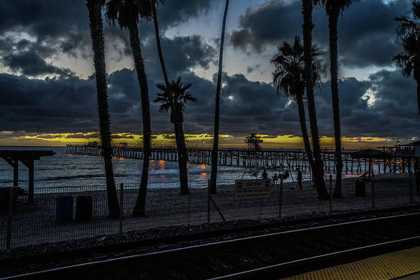 Kenneth James Art Print featuring the photograph Good Night San Clamente Pier 2 by Kenneth James