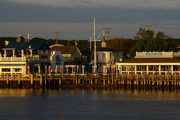 Gosman's Dock Art Print featuring the photograph Gosman's Dock Early Morning by Christopher Kirby