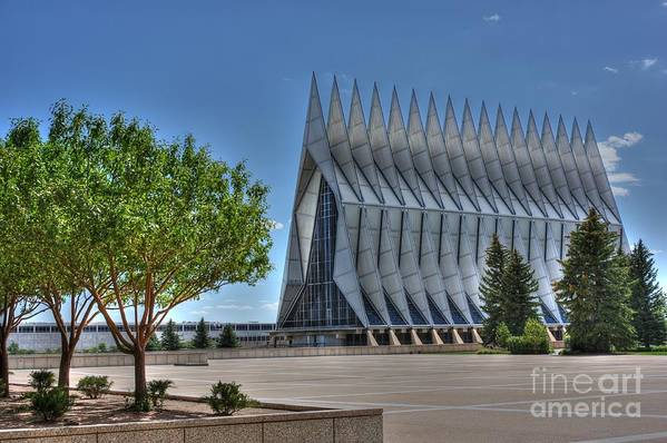 Hdr Art Print featuring the photograph Graceful Academy by David Bearden